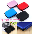 "2.5"" External USB HDD Hard Drive Disk Carry Case Pouch Storage Bag For PC GPS"