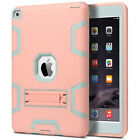 Shockproof Heavy Duty Rubber With Hard Stand Case Cover For Apple iPad Air 2