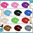 Memory Foam U Shaped Travel Pillow Neck Support Head Rest Car Seat Cushion SALE