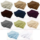 buying sheets thread count - 2000 Thread Count Brushed Microfiber Deep Pocket Bedding Sheets Set King Bed