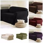 Внешний вид - Soft Solid Micro Suede Sofa Loveseat or Armchair Cover Slipcover 9 Colors