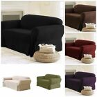 Chezmoi Collection Soft Micro Suede Solid Sofa Loveseat Armchair Cover Slipcover