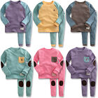 "Vaenait Baby Toddler Kids Girls Boys Clothes Pyjama Set ""Simple set"" 12M-7T"