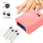 New UV Gel Nail Art Lamp Dryer Manicure Light Shellac Gel Curing 36W + Bulb UK