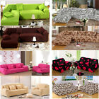Stretch L-shaped Fitted Sofa Couch Covers Pet Protector Throw For 1 2 3 Seater