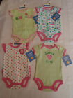 Carters Baby Girls Newborn 3 6 or 9 Month Choice Bodysuit Cotton Outfit NWT