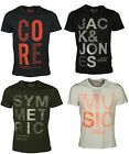 MENS BRAND NEW TSHIRT SHORT SLEEVE JACK & JONES IN 4 COLOURS ALL SIZES S TO 2XL