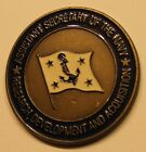 Assistant Secretary of the Navy H. Lee Buchanan Navy Challenge Coin
