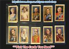 ☆ J. Wix & Sons - Coronation (Wix at Bottom) 1937 (G) *Pick The Cards You Need*