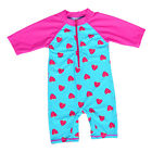 Kids Girl Cute Strawberry Rash Vest Sun UV Protection 50+ Swimsuit Costume 3-8Y