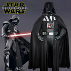 Star Wars Darth Vader Black Cosplay Costume Custom Cape Jacket Without Helmet