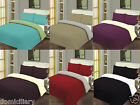 Stylish Front Reverse Duvet Cover Bed Set Quilt Cover Single Double & King Size