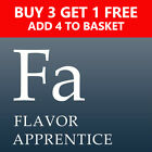 TFA FLAVOR APPRENTICE I-Z Listing 2 of 2 TPA The FLAVOUR TFA Concentrate