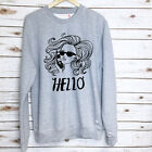 Adele Sweater Sweatshirt - Unisex Jumper - Hello Slogan Sweater - Sassy Sweater