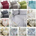 3PC EMBOSSED QUILTED BEDSPREAD SET BED SPREAD PILLOW SHAMS 240X260CM DOUBLE/KING