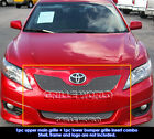 For+2010%2D2011+Toyota+Camry+SE+Stainless+Steel+X+Mesh+Grill+Insert+Combo
