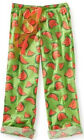 NEW Aeropostale Aero Watermelon Print Womens Woven Dorm/Sleep Lounge Pants Sz XL