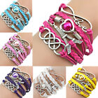 Hot Fashion Jewelry Multilayer Charming Eiffel Tower Bracelet Bangle for Women T