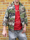 FRENCH ARMY SURPLUS G1 F2 CENTRAL EUROPEAN CE CAMO COMBAT JACKET VINTAGE FASHION