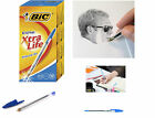 BiC Cristal Original 1.0mm Ball Pen Xtra Life Fine Writing Pens 5,10,20,50 Pack