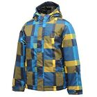 Dare2b Steady On Boys Waterproof Breathable Thermal Ski Jacket Golden