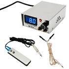 Monster Point Digital 10 Turn Professional Stainless Steel Tattoo Power Supply