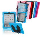 New Hybrid Combo Shock Proof Skin Stand Shell Cover Case For Apple iPad 2 3 4