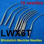 10 Industrial Blindstitch Sewing Machine Needles Lwx6t Lwx2t 11 12 14 16 More