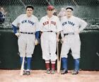 BL159 Babe Ruth & Lou Gehrig Yankees Reynolds RedSox 8x10 11x14 Colorized Photo