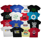5 Funny Infant And Toddler T-Shirts For Boys And Girls Baby Clothing Tees Cotton
