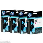 HP Nr. 88 Mult Pack Set 4 orginal OEM Inkjet Patronen B,C,M,Y Officejet Pro