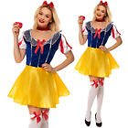 FANCY DRESS SNOW WHITE PRINCESS FAIRYTALE COSTUME  Free Stockings Book Week