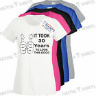 It took 30 years to look this good 30th Birthday t-shirt Brand new Gifts Him Her