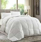 White Down Alternative Comforter (Duvet Cover Insert)  Medium and Extra Warmth