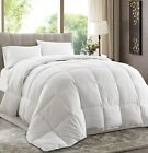 White Down Alternative Comforter (Duvet Cover Insert)  Medium or Extra Warmth image