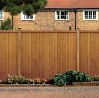 GRANGE GOLDEN BROWN CLOSEBOARD VERTICAL FENCE PANELS