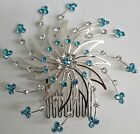 NEW Girls Women JH0648 Rhinestone Spiral HairComb Hair Jewelry Fashion Accessory