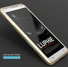Luxury Ultra Slim Aluminum Metal Bumper Hard Case Cover For Samsung Galaxy Phone