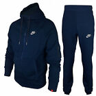 Nike Foundation 2 Mens Fleece Hooded Sports Jogging full Tracksuit Top & Bottom