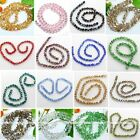 "10mm Colors Crystal Glass Twist Loose Beads 26.5"" Fit Jewelry Making Finding Diy"