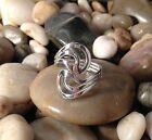 Sterling Silver .925 Large Bold Open Wrap Ring