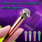 4Colors 3.5mm Stereo Studio Speech mini Microphone Mic For phone PC Laptop Skype
