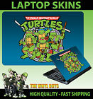 LAPTOP STICKER SKIN CLASSIC TEENAGE MUTANT RETRO TURTLES 90'S STYLE GRAPHIC
