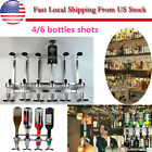 Mounted Liquor Dispenser Bottle Beverage Bar Wall Alcohol Cocktail Wine Beer 4/6