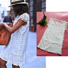 Mini Summer Casual Sleeveless Evening Party Cocktail Short Sexy Women Lace Dress