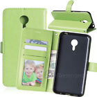Photo Frame Wallet Stand Leather Flip Card Clip Soft Skin Case Cover For Meizu