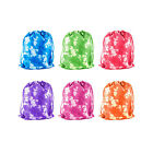 Tie-Dyed Camouflage Drawstring Bags Party Favors Arts & Crafts Activity Lot New