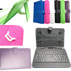Micro USB PU Leather Keyboard Case Cover Stand For  Acer Iconia A1 A1-810