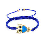MultiColor Owl Kids Ladies Girls Boys Friendship BFF Bracelet Wholesale