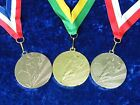 Football Metal Medals Man of the Match Competition School Event Gold or Silver